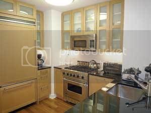 This furnished one-bedroom at 200 West End Avenue (between 69th and 70th streets) has a washer and dryer. The landlord is asking $4,500 a month.