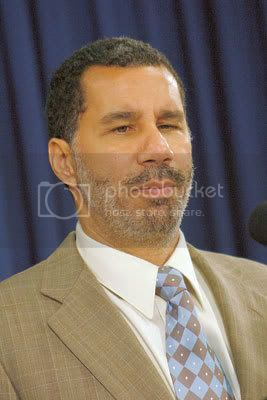 Gov. David Paterson faces fiscal crises, Senate appointments and a legislature in disarray. Photo By: Andrew Schwartz