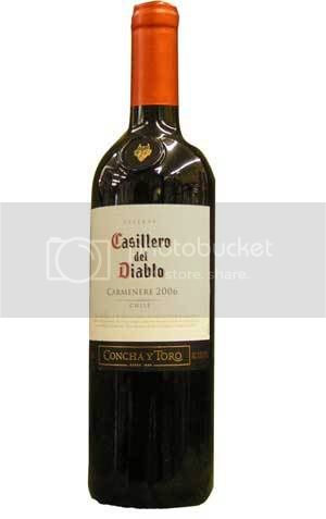 Chilean Carmeneres, top, are a delicious and much more affordable way to get the taste of Bordeaux, bottom.