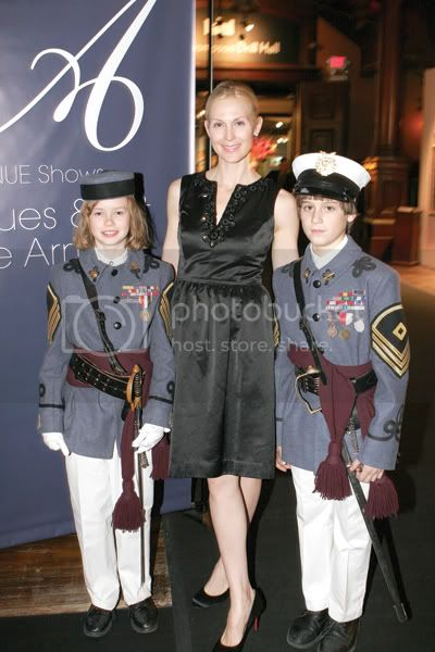 Actress Kelly Rutherford with members of The Knickerbocker Greys at the opening night benefit for the American Cancer Societys HOPE LODGE NYC. Photo by Patrick McMullan Company