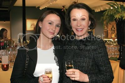 Georgina Bloomberg and Susan Bloomberg. Photo by Patrick McMullan Company