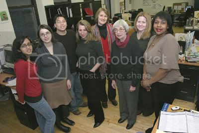 The Insideschools staff during better days, the winter of 2008. Photo by Andrew Schwartz