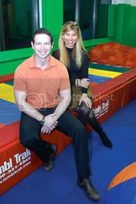 Andy Stenzler and Shari Misher-Stenzler, founders of Kidville, just acquired international chain JW Tumbles, with locations in Hong Kong and Singapore. Photo By: Andrew Schwartz