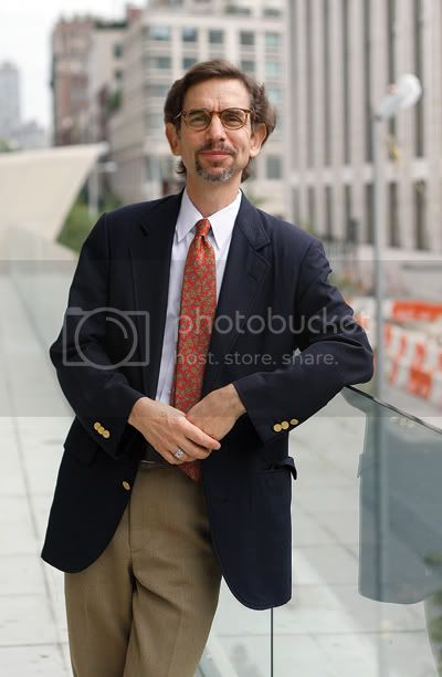 Thomas Mellins, Curator. Photo by Andrew Schwartz