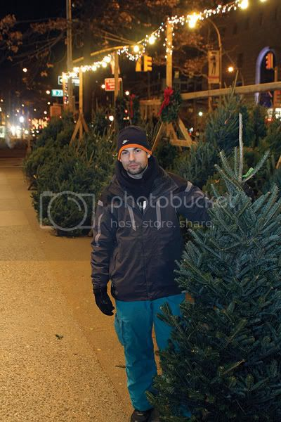 Adam from Serbia pulls the late shift on Broadway and West 72nd Street. Photo by Andrew Schwartz